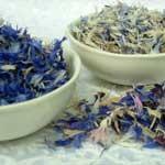 Цветки василька синего в кулинарии