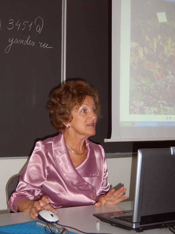 Елена Марасанова - консультации садовода цветовода