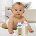 Молоко и ребенок