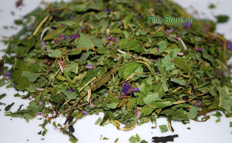 Высушенные листья иван-чая