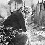 Русская женщина в войну