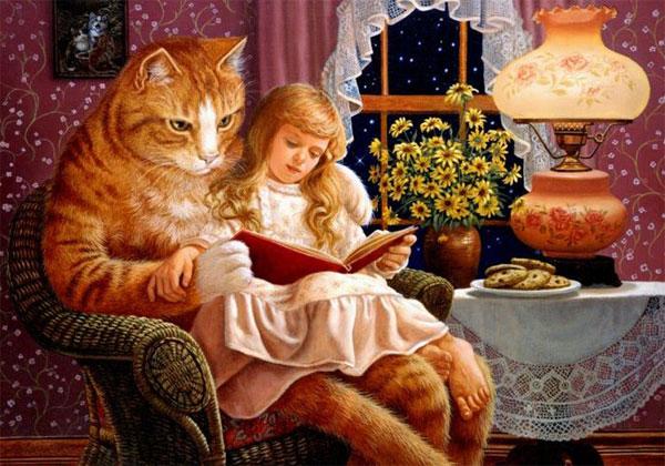 сказки на ночь для детей с картинками