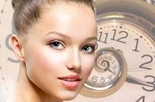 Уход за кожей лица по часам