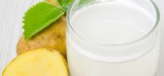 Сок сырого картофеля при диатезе
