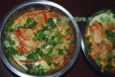 Омлет с овощами - вкусный и полезный завтрак